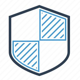 brand protection, defence, firewall, protect, secure, security, shield icon