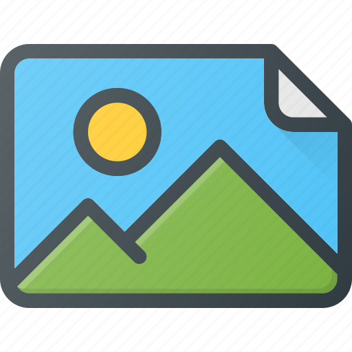 image, photo, photography, picture icon