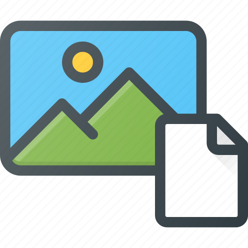 file, image, photo, photography, picture icon