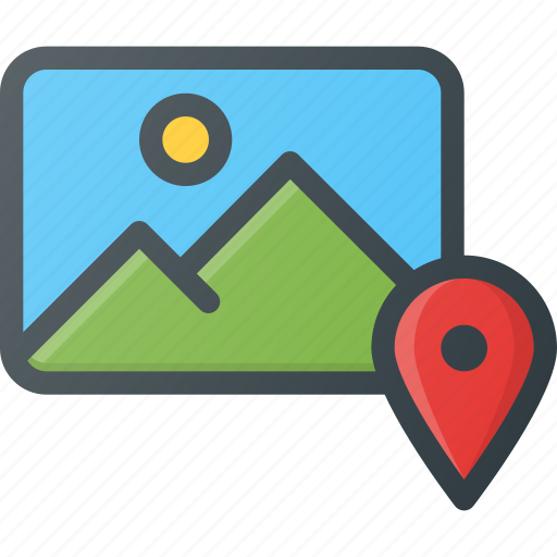 geolocatin, image, location, photo, photography, picture, pin icon