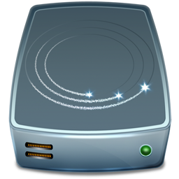 externe, harddisk, hdd icon