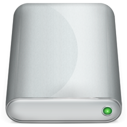 device, harddisk icon