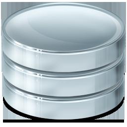 base, data, database, db, dbms, ordbms, rdbms, storage icon