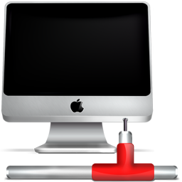 apple, computer, imac, monitor, network, screen icon