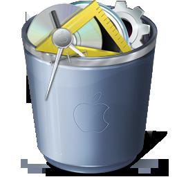 full, trash icon
