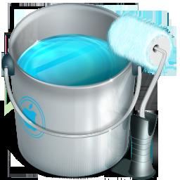 customize, design, paint icon