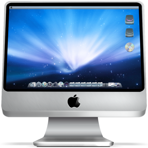 Apple, computer, imac, mac, monitor, screen icon | Icon ...