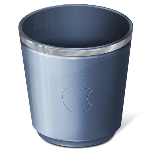 Recycle Bin Empty Icon Png Empty Recycle Bin Trash Icon