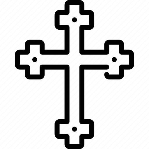 christ, christianity, cross, jesus, religion icon