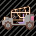 buggy, vehicle, transport