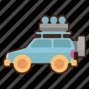 desert, expedition, vehicle
