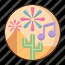 desert, music, festival