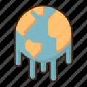 global, warming, globe, world