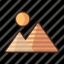 pyramids, egypt, ancient, monument