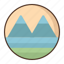 tundra, landscape, nature, mopuntain