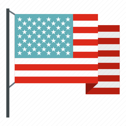 america, american flag, country, patriotic, stars, travel, waving icon