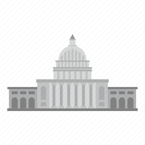 building, capitol, congress, house, politics, president, white house icon