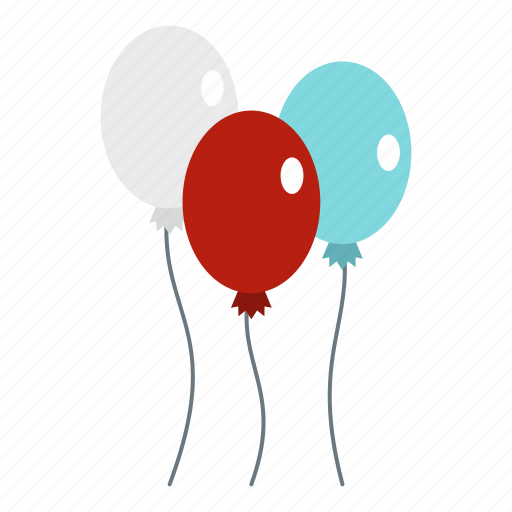 balloons, date, day, decoration, explode, fireworks, july icon