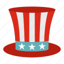 uncle sam hat, democracy, federal, american, america, celebrate, celebration