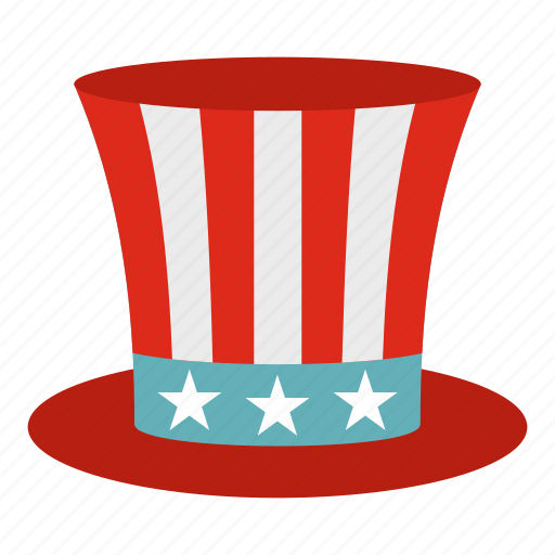 america, american, celebrate, celebration, democracy, federal, uncle sam hat icon