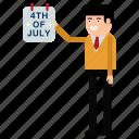 celebration, day, independence, july, states, united, usa icon