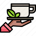 chai, hand, food, tea, cup, hot, drink