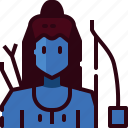 god, hindu, indiarama icon