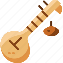 india, instruments, music, veena