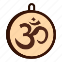hindu, hinduism, india, om, religion, religious, yoga icon