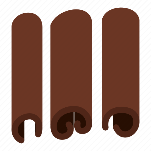cinnamon, dry, food, herb, ingredient, spice, stick icon