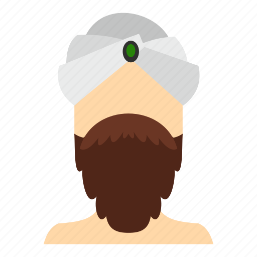 India, indian, male, man, person, traditional, turban icon - Download on Iconfinder