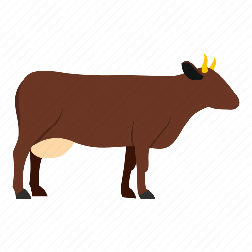 agriculture, animal, beef, bovine, bull, cow, veal icon