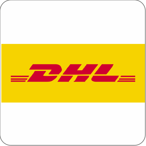 courier, dhl, ecommerce, india, shipping icon