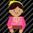 indonesian, woman, java, bali, indonesia, culture, javanese