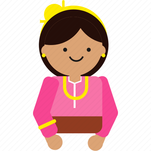 Bali, culture, indonesia, indonesian, java, javanese, woman icon - Download on Iconfinder