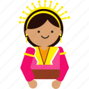 indonesian, woman, java, indonesia, sumatera, culture, etnic