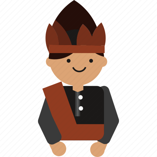 Culture, indonesia, indonesian, java, javanese, man, sumatera icon - Download on Iconfinder