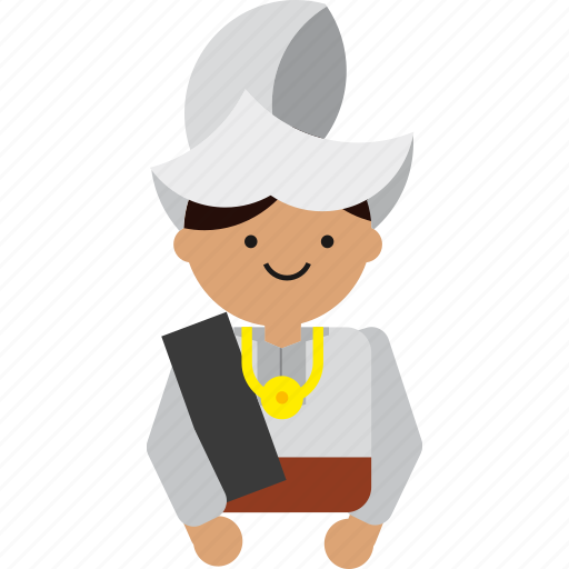 Business, culture, etnic, indonesia, indonesian, man, sulawesi icon - Download on Iconfinder