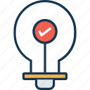 bulb, illumination, light, light bulb, luminaire icon