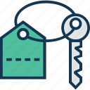 door key, key, privacy, protection, real estate, room key icon