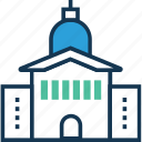 building, cottage, hut, lodge, mosque, museum, museum building icon