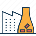 chimney, factory, industry, mill, refinery icon