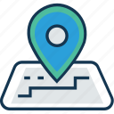 gps, location marker, location pointer, map locator, map pin, navigation icon