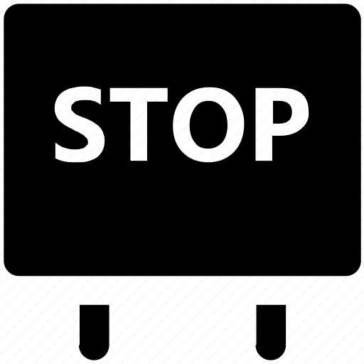 car, circulation, drive stop, road sign, stop sign, stopping, traffic sign icon