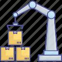 construction crane, crane lifter, crane machine, tower crane icon