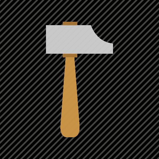 building, hammer, industry, metal, wood, work icon