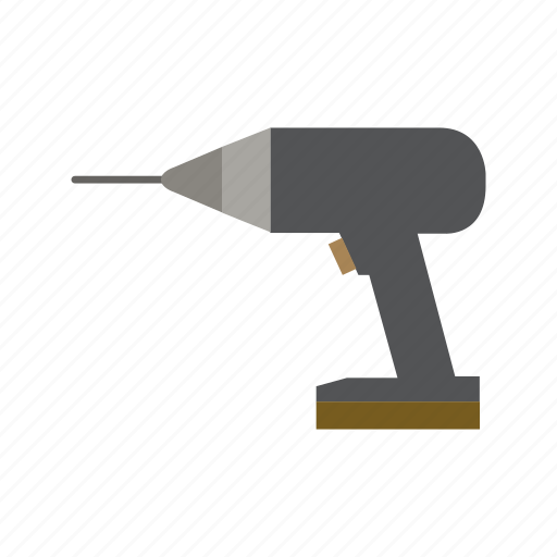 Construction, drill, industry, job, tool, work icon - Download on Iconfinder