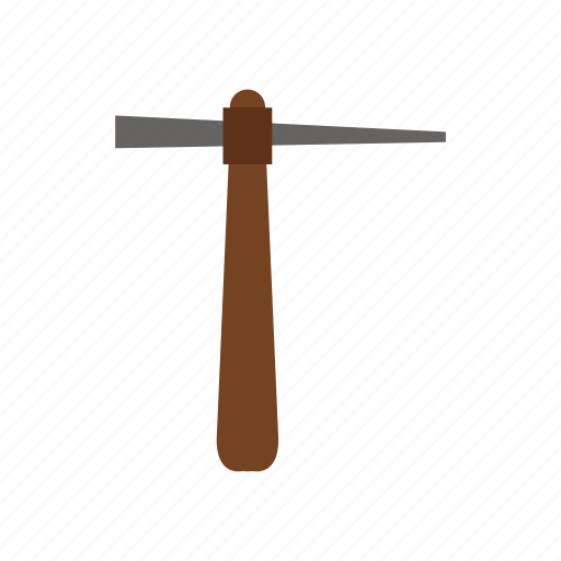 building, construction, industry, job, pickaxe, work icon