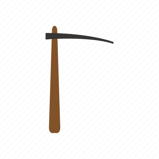 building, construction, industry, job, pickaxe, tool, work icon