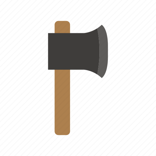ax, cut, industry, tool, work icon